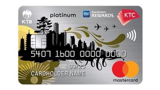 บัตรเครดิต เคทีซี เบสท์ เวสเทิร์น แพลทินั่ม มาสเตอร์การ์ด