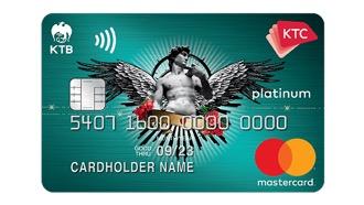 บัตรเครดิต เคทีซี ไอ แอม แพลทินั่ม มาสเตอร์การ์ด