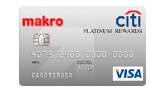 บัตรเครดิตซิตี้ แม็คโคร แพลทินั่ม รีวอร์ด